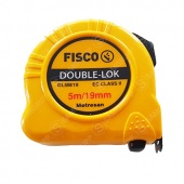 Рулетка Fisco DL5M/19 Double-lok (5м)